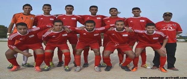فريق أصدقاء سوس لكرة القدم 07-12-2014