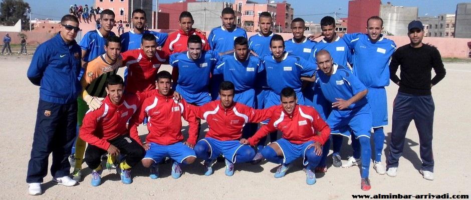 فريق سيدي بيبي لكرة القدم 28-12-2014