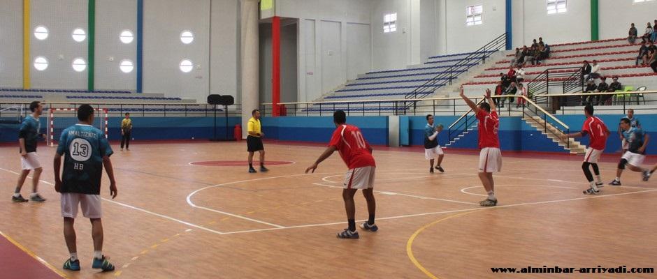 امل تيزنيت لكرة اليد ضد اتحاد ايت ملول