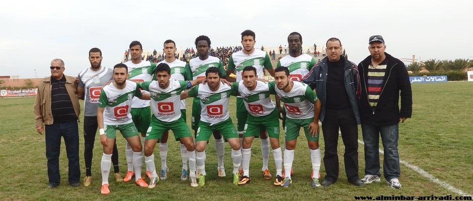 فريق أولمبيك الدشيرة لكرة القدم 08-02-2015