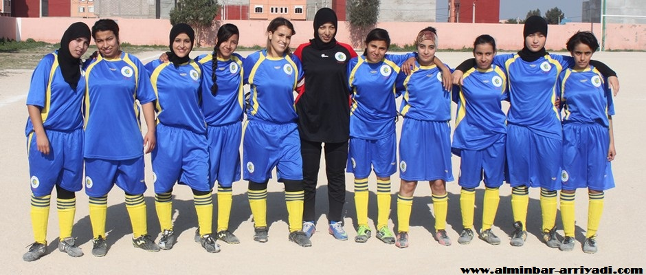 فريق جمعية سيدي بيبي لكرة القدم النسائية 2015-01-31