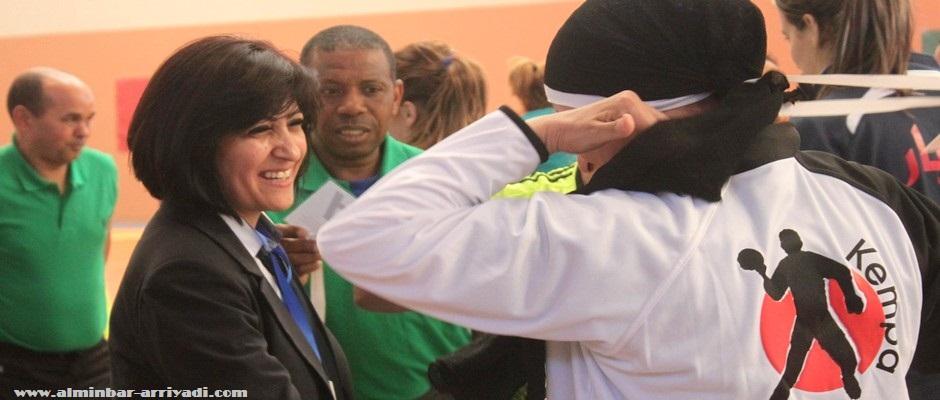 اعتبار محمد رئيسة اللجنة النسوية للاتحاد العربي لكرة اليد