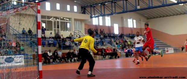 البطولة العربية لكرة اليد -رجاء اكادير ضد الترجي السعودي