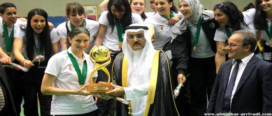 تتويج مجمع النفط الجزائري للسيدات بلقب البطولة العربية للأندية أبطال الكؤوس لكرة اليد