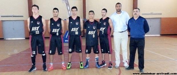 فريق الجمعية الرياضية تارودانت لكرة السلة 08-03-2015