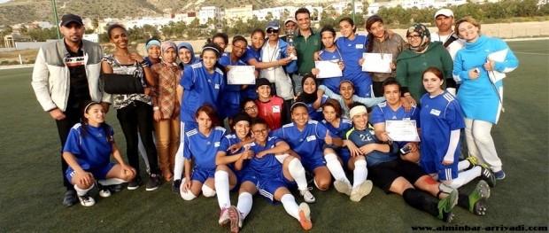 فريق نجم أنزا لكرة القدم النسائية 07-03-2015