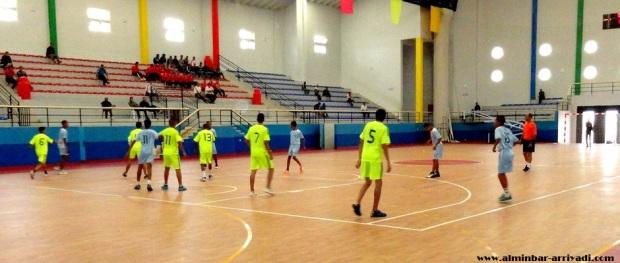 كرة اليد فتيان - امل تيزنيت ضد الاتحاد البعمراني