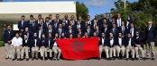البعثة المغربية المشاركة في الأولمبياد الخاص للألعاب الصيفية 2015