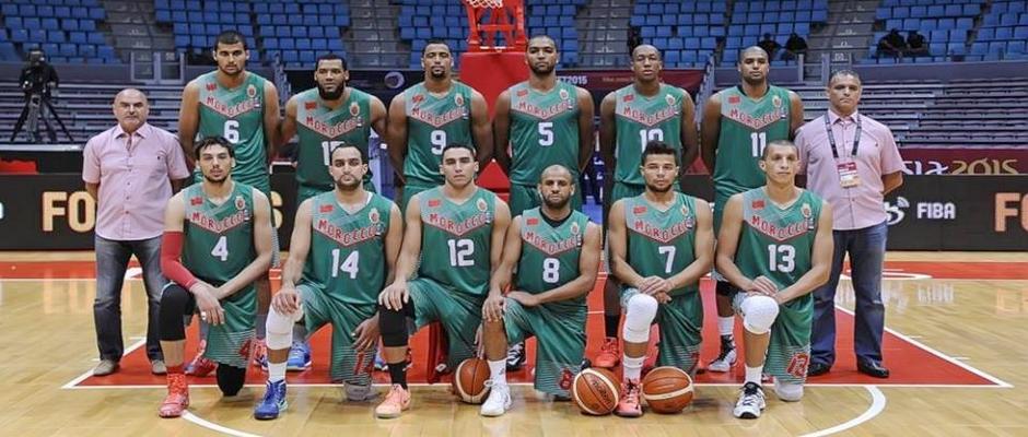 المنتخب الوطني المغربي لكرة السلة غشت 2015