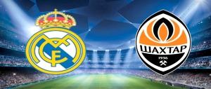 ريال مدريد ضد شاختار دونيستيك