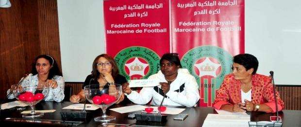 قرعة كأس العرش لكرة القدم النسائية 01-10-2015