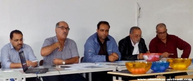 محمد أفلاح - البشير بورحيم - كريم أوشريف - عبد الله أبو القاسم
