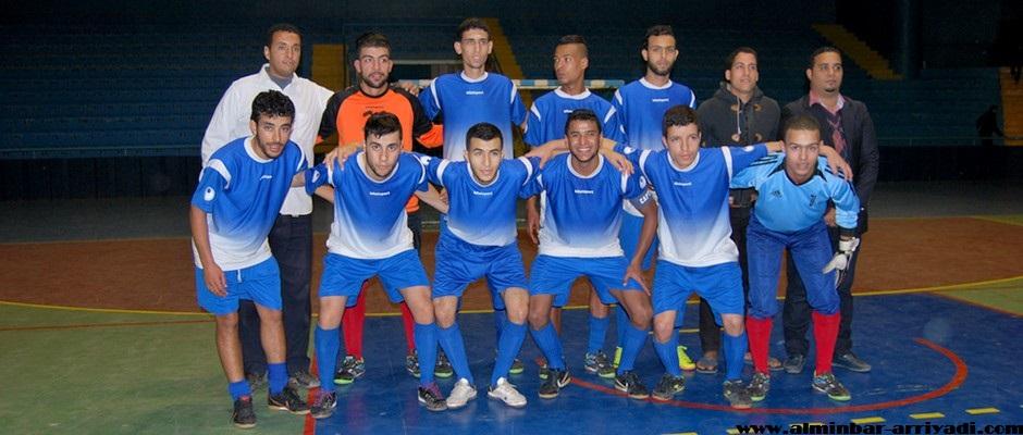 النادي الرياضي تيكوين لكرة القدم داخل القاعة 02-01-2016