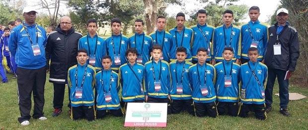 منتخب عصبة سوس لكرة القدم لأقل من 14 سنة 28-01-2016