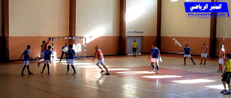 القسم الثاني لكرة اليد - دينامو اكادير ضد شباب اكجكال