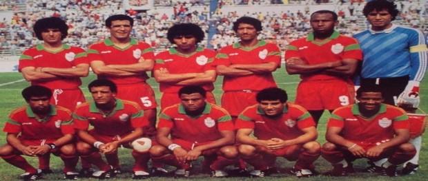 المنتخب الوطني المغربي 1986