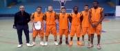 فريق الحي الجامعي أكادير لكرة السلة 02-03-2016