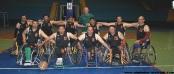 فريق جمعية سوس لكرة السلة على الكراسي المتحركة 05-03-2016