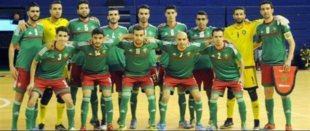 المننتخب المغربي لكرة القدم داخل القاعة 16-004-2016