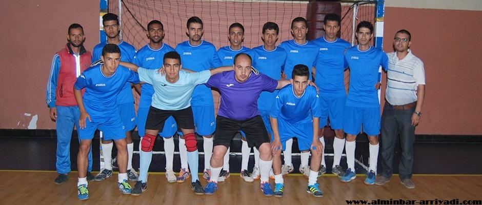 النادي الرياضي أزرو لكرة القدم داخل القاعة 09-04-2016