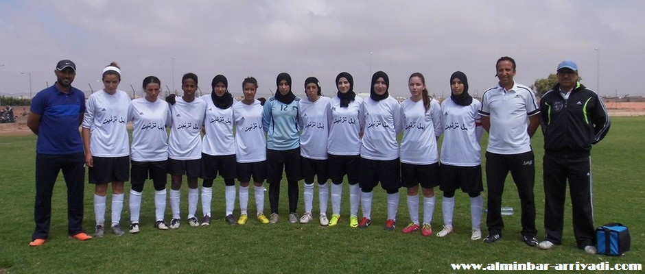 فريق أمل تيزنيت لكرة القدم النسائية 2016-04-24
