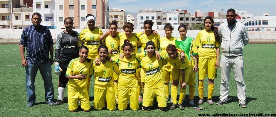 مولودية كلميم لكرة القدم النسائية 17-04-2016