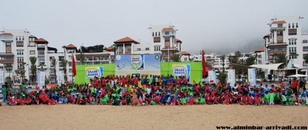 المهرجان الرياضي الشاطئي لعصبة سوس لكرة القدم 22-05-2016