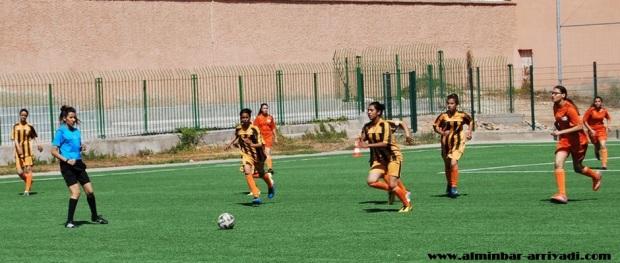 رجاء اكادير ضد اتحاد تيكوين لكرة القدم النسائية - صغيرات 30-04-2016