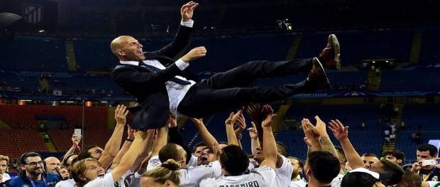 زيدان يفوز باللقب الحادي عشر لدوري ابطال اوروبا