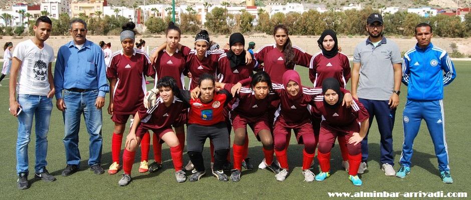 فريق آمال شباب هوارة لكرة القدم النسائية 2016-05-15