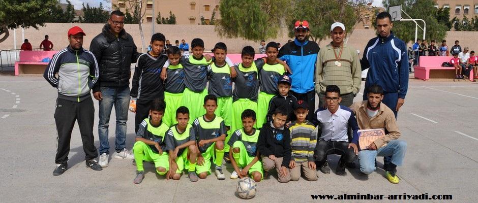 فريق جمعية تمدغوست الفائز بدوري جمعية تمدغوست للرياضة و الثقافة 2016