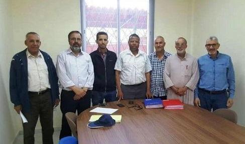 اجتماع بين المجلس الجماعي و المكتب المسير لنادي اتحاد ايت ملول
