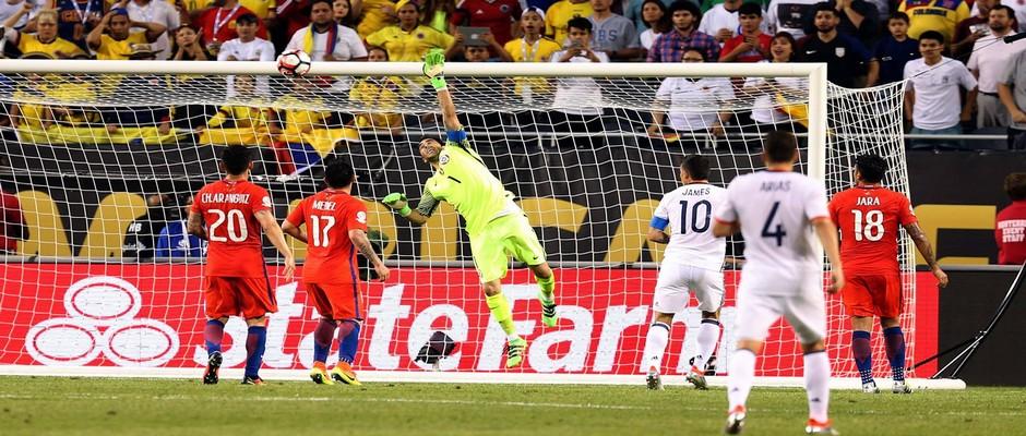 التشيلي ضد كولومبيا
