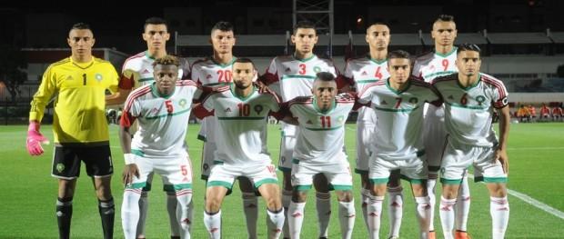 المنتخب الوطني المغربي لكرة القدم أقل من 20 سنة 12-06-2016