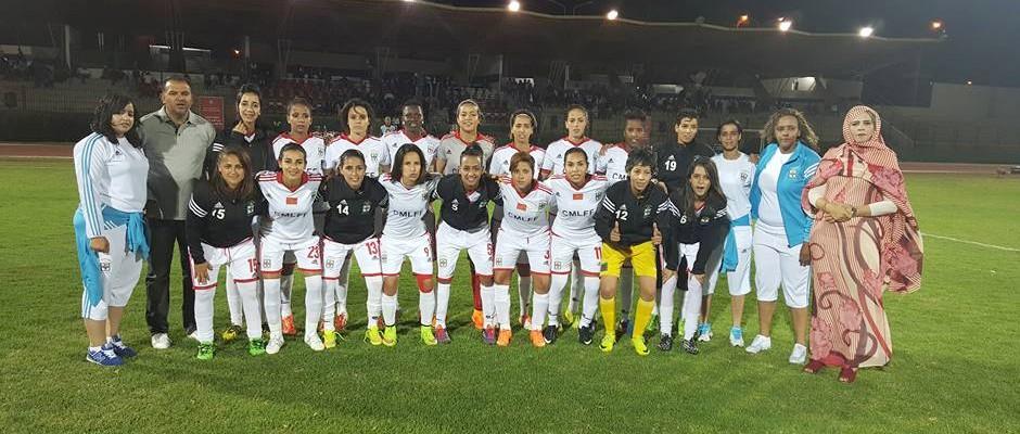 النادي البلدي العيون لكرة القدم النسائية 2016-06-11