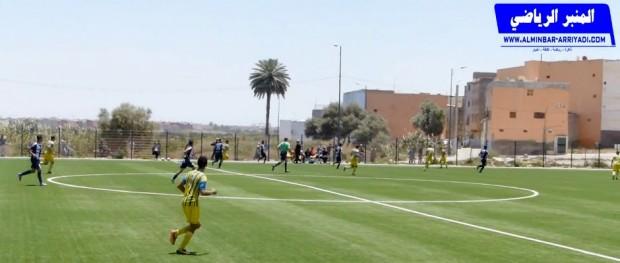 بطولة القسم الرابع - شباب اكدال ضد النادي البلدي الاخصاص