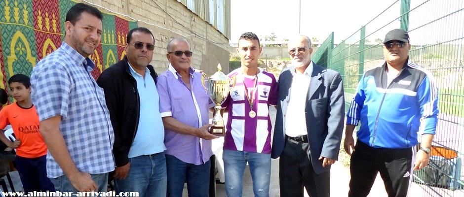 تتويج شباب أكدال بلقب القسم الرابع لعصبة سوس لكرة القدم 2016-06-04