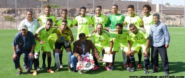 حسنية بنسركاو لكرة القدم 2016-06-04