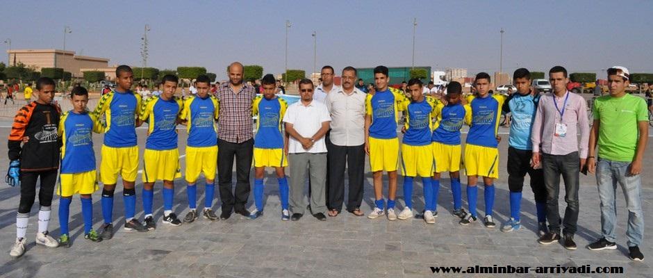 شباب إدرق المشارك في النسخة الثالثة لدوري الأجيال لكرة القدم 2016-06-09