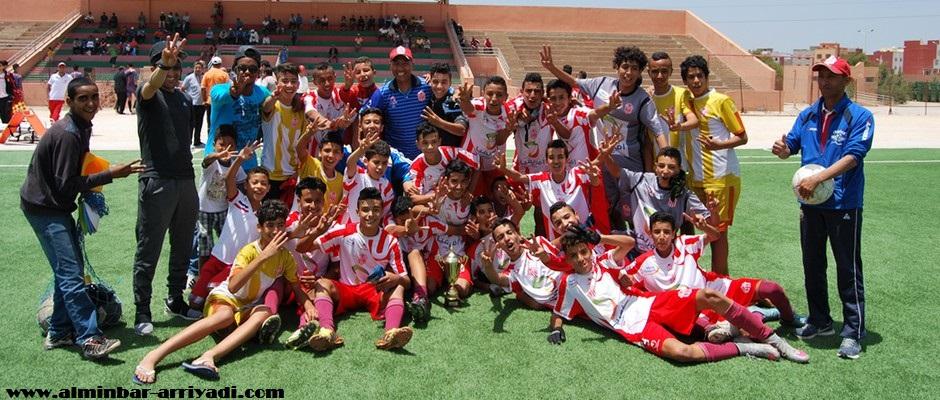 صغار حسنية أكادير لكرة القدم 2016-06-05