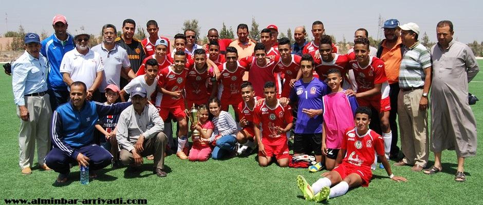 فتيان اتحاد أيت ملول لكرة القدم 2016-06-05