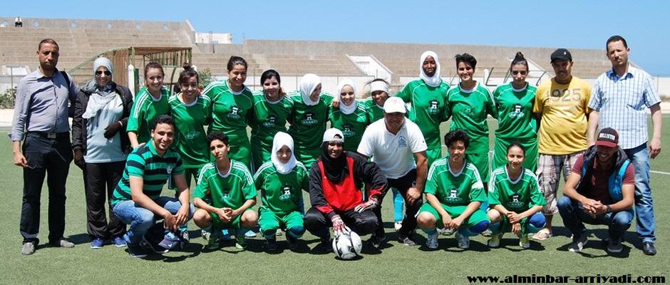 فريق الجيل الجديد التمسية لكرة القدم النسائية 29-05-2016