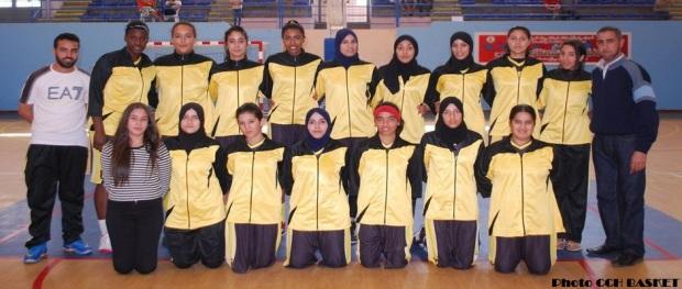 فريق شباب هوارة لكرة السلة النسائية 2016