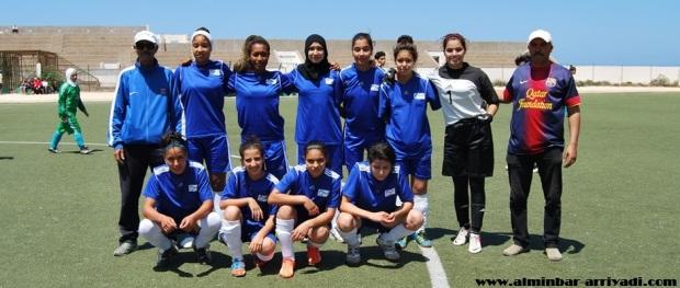 فريق نجم أنزا لكرة القدم النسائية 29-05-2016
