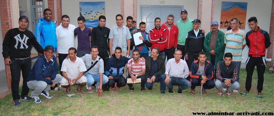 ممثلي الفرق المشاركة في دوري باب تاركا 01-06-2016