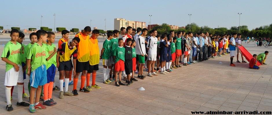 مهرجان كرة القدم - جمعية شباب و مواهب تيزنيت 2016