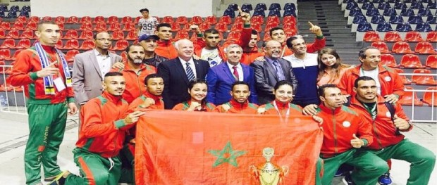 المنتخب الوطني المغربي لرياضات الكيك بوكسينغ 2016-07-24