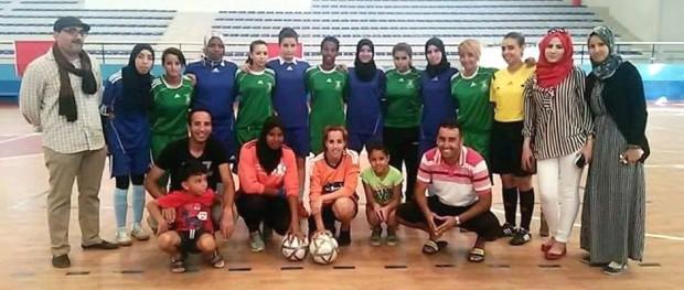 دوري عيد العرش - امل تيزنيت لكرة القدم النسائية