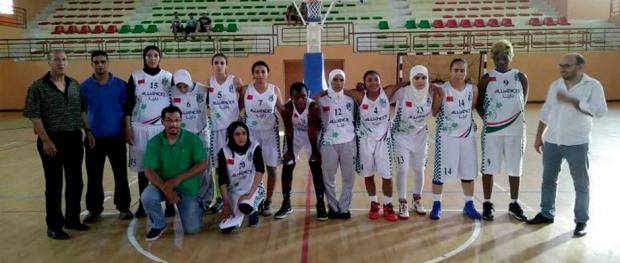 سيدات النادي القنيطري لكرة السلة 13-07-2016