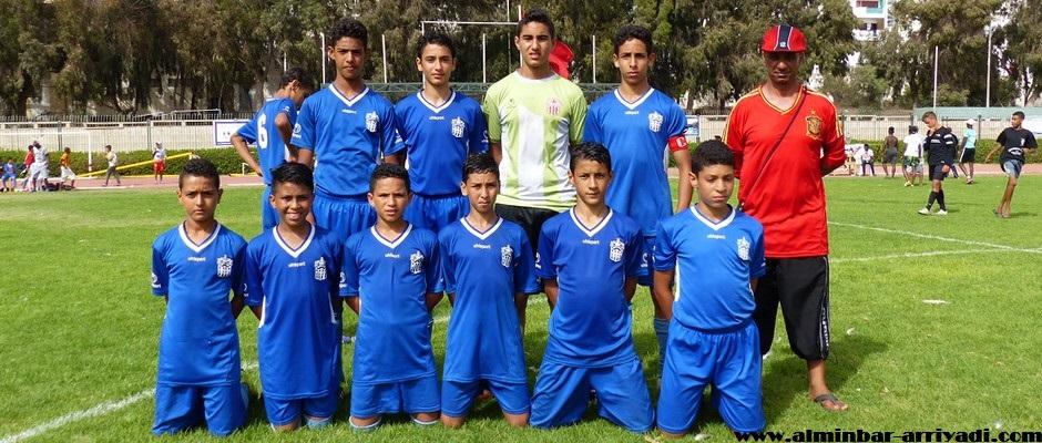 صغار حسنية أكادير لكرة القدم 18-07-2016
